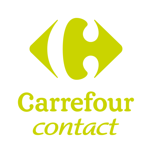 Carrefour contact logo