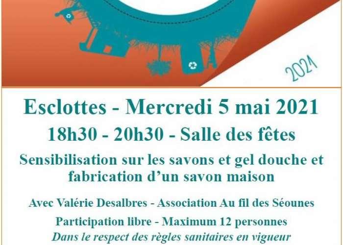 image de Report à fin juin - Ateliers Ecocitoyens « Mes cosmétiques maison »