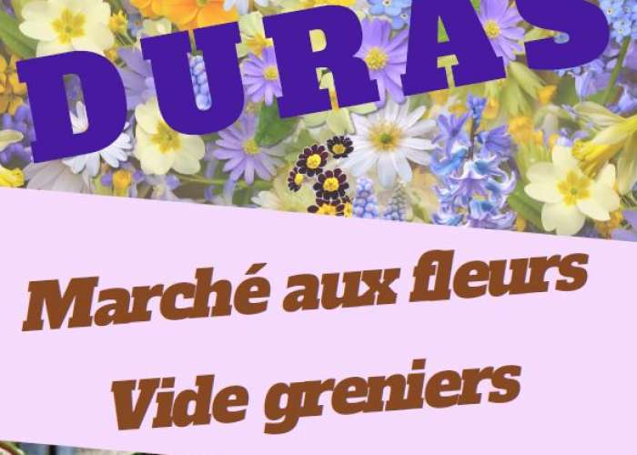 image de Marché aux fleurs, vide-greniers