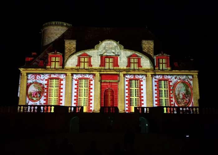 image de Spectacle - projection en 4D sur le Château de Duras