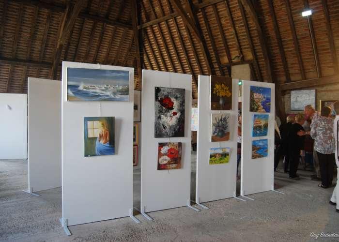 image de Exposition de peintures et sculptures