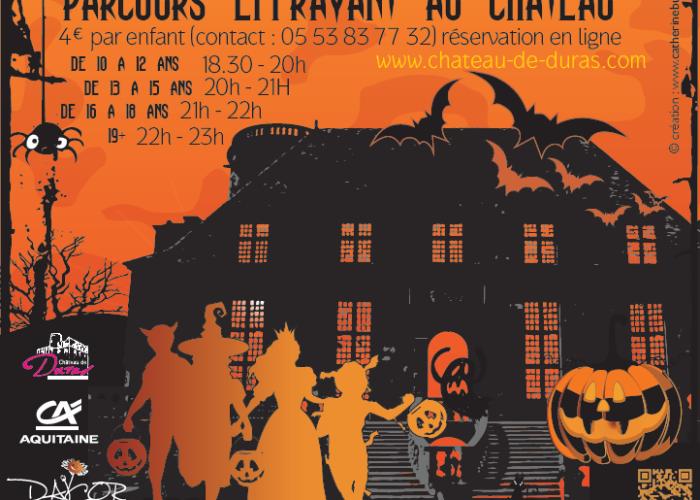 image de HALLOWEEN, rendez-vous au Château de Duras