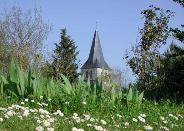 image de Lubersac, une église de Saint-Sernin-de-Duras
