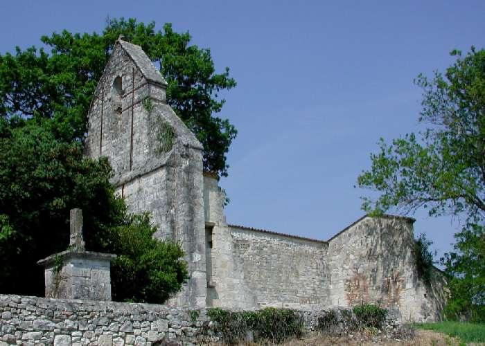 image de Loubès-Bernac, vers l'église de St-Nazaire