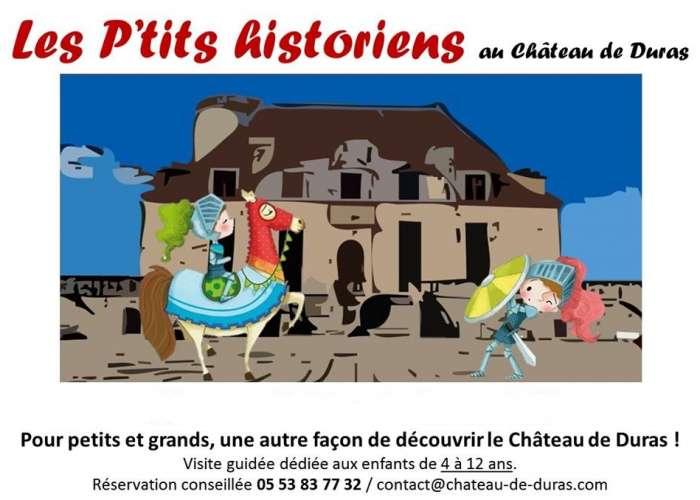 image de ANNULATION Les p'tits historiens au château de Duras
