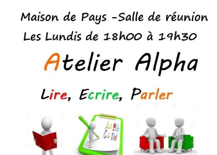 image de Atelier ALPHA - Cours de français