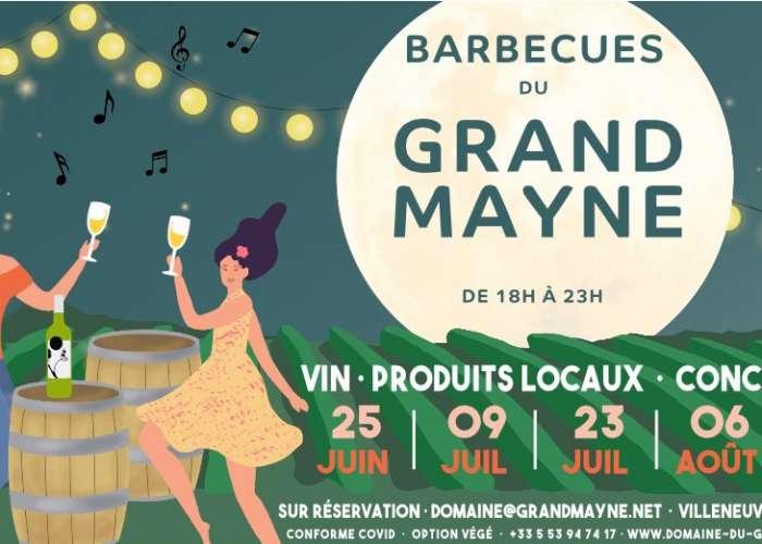 image de Les barbecues du Domaine du Grand Mayne : musique et vins