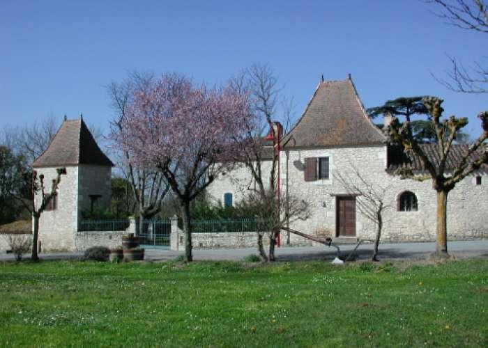 image de Saint-Sernin-de-Duras, vers le domaine d'Amblard
